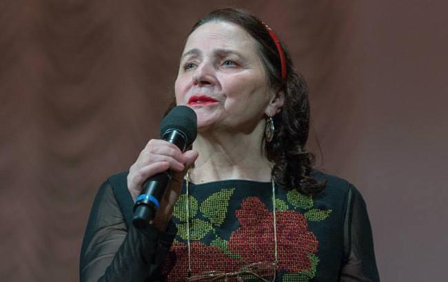 Нине Матвиенко подарили почетную звезду в центре Киева