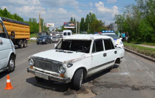 П'яна гонка в Києві закінчилися масштабною ДТП (фото)
