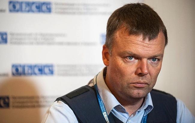 Хуг уходит с поста замглавы миссии ОБСЕ в Украине