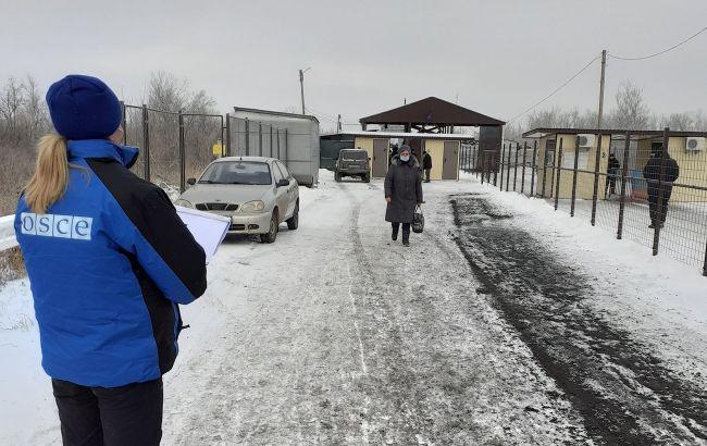 ОБСЄ зафіксувала зниження кількості обстрілів в Донбасі