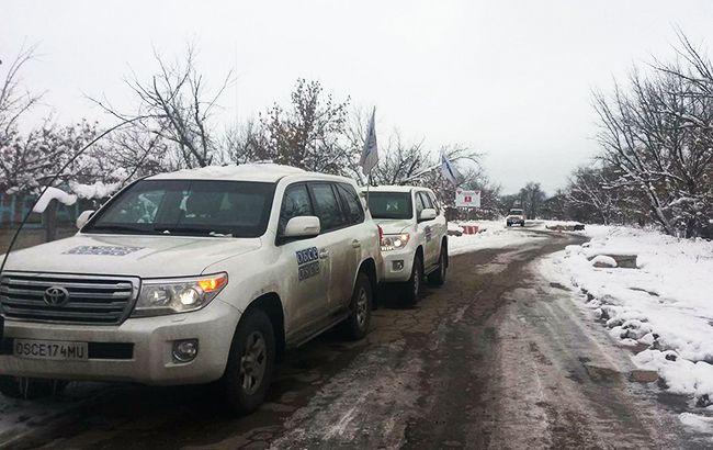 Бойовики блокують пересування СММ ОБСЄ біля ділянок розведення сил на Донбасі