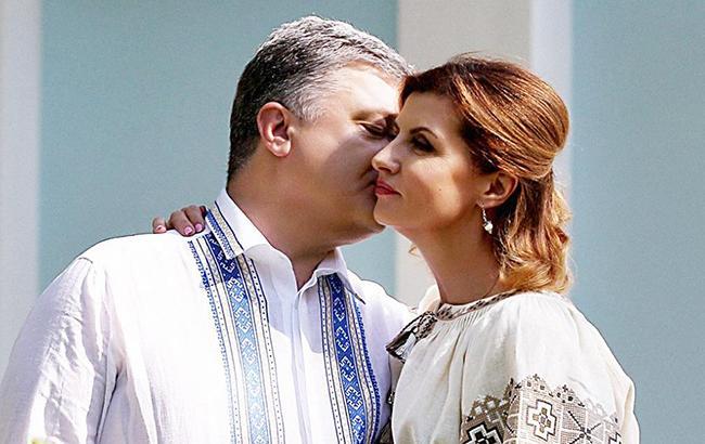 Порошенко з дружиною святкують 33-ю річницю весілля