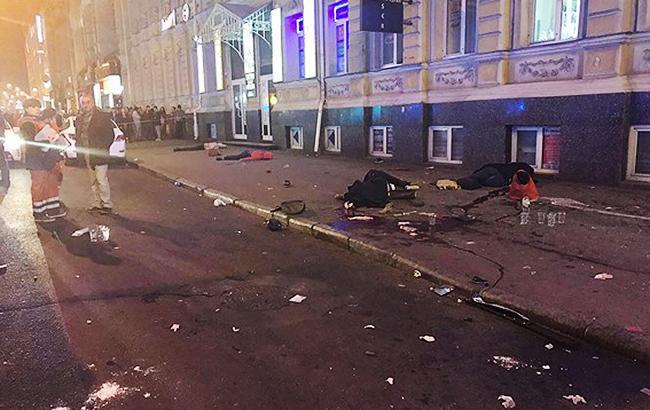 Фото: Жахлива ДТП у Харкові (facebook.com police.kharkov)