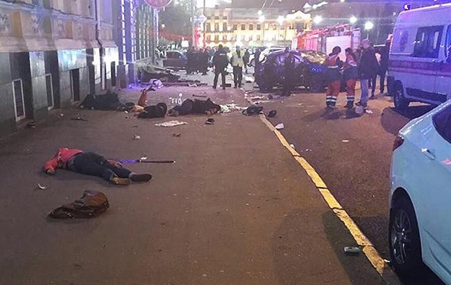 Фото: ДТП в Харькове (facebook.com/police.kharkov)