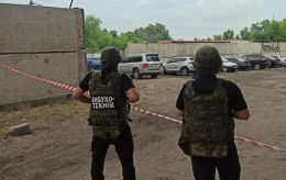 У Луганській області замінували автомобіль співробітника СБУ