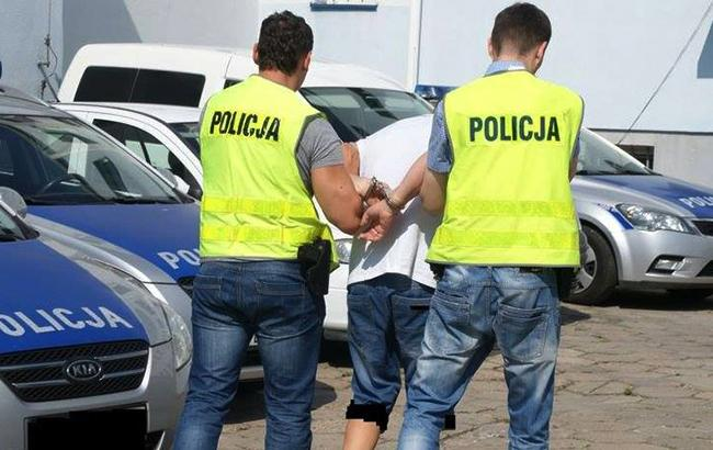 Фото: польская полиция заявила о 31 задержанном (facebook.com/PolicjaPL)