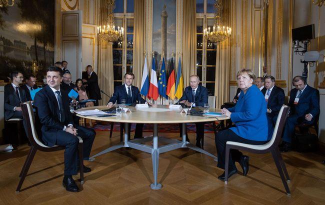 Нормандська зустріч Зеленського, Путіна, Макрона і Меркель: з