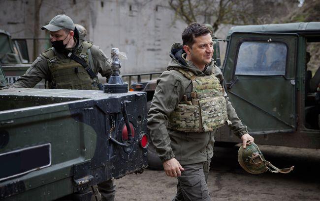 Зеленский в Херсоне проведет совещание по безопасности. Обсудят ситуацию у границ Украины