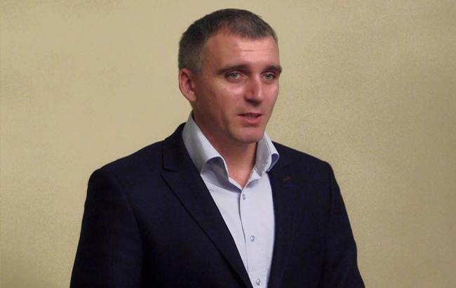 Фото: Николаев требует отставки мэра (facebook.com senkevich.aleksandr)