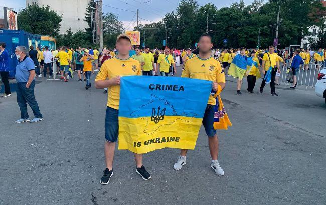 У Румунії поліція не пустила на стадіон вболівальників з банером про український Крим