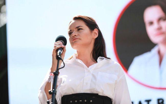 Украина впервые вышла на официальный контакт с Тихановской: о чем говорили