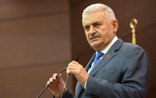 Фото: премьер-министр Турции Бинали Йылдырым (acebook.com/tcbasbakan)