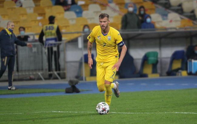 Оглашена окончательная заявка сборной Украины на матч с Францией: в ней нет Ярмоленко