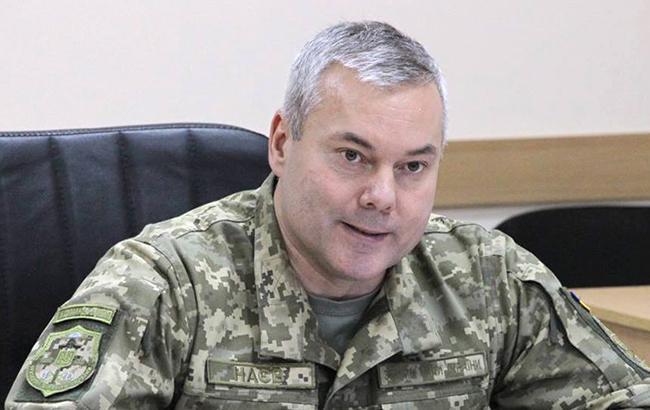 Наев: перед ООС не стоит задача освободить Дебальцево или другой населенный пункт