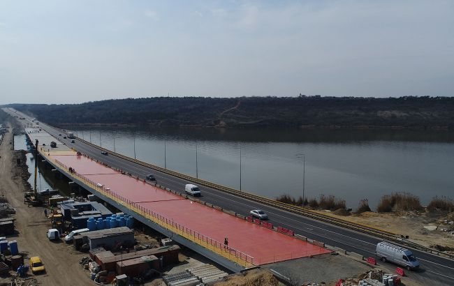 Полноценное движение на Хаджибейском мосту открыто, - Тимошенко