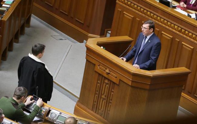 ГПУ вручила подозрение Савченко