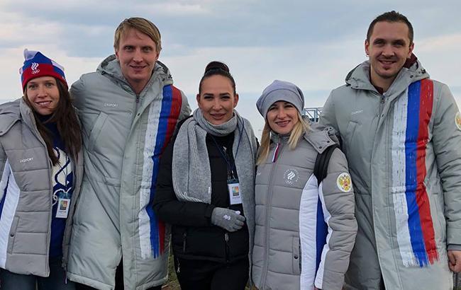 Фото: Российские спорстмены (facebook.com zasportcompany)