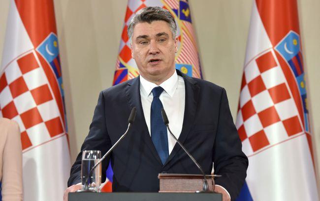 Президент Хорватии назначил парламентские выборы