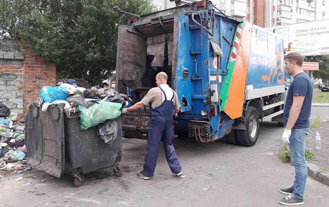 Фото: львовский мусор (facebook.com/zubko.gennadiy)