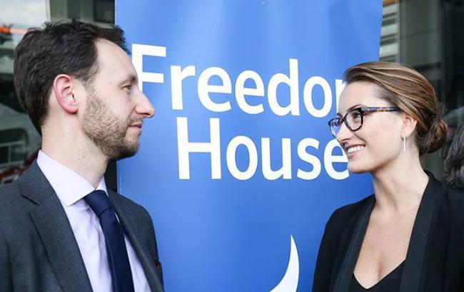 Украина остается частично свободной страной в рейтинге Freedom House