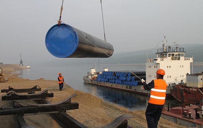 ВГермании очередное судно начало укладку труб «Северного потока-2»