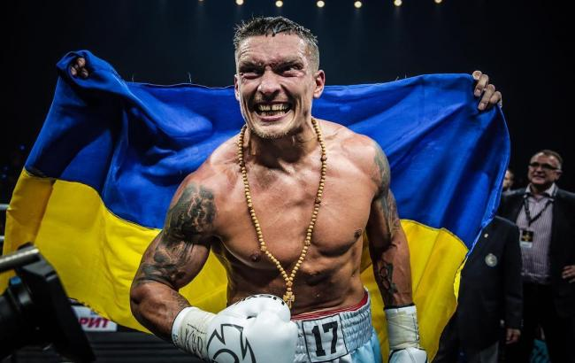 Усик стал абсолютным чемпионом мира после победы над Гассиевым