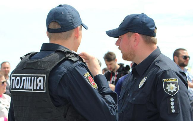 Фото: сотрудники Национальной полиции Украины (facebook.com/odesapolice)