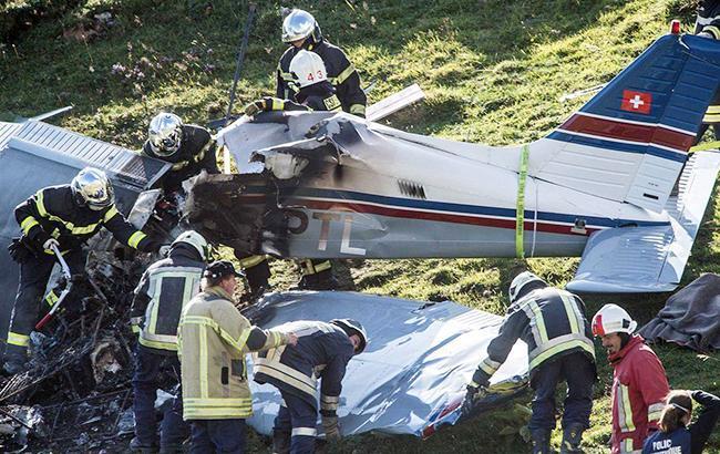 У Швейцарії розбився літак, є загиблі