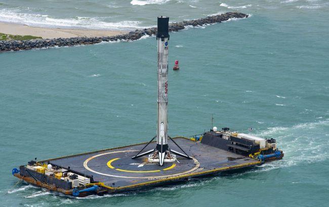 После запуска людей в космос Falcon 9 вернулась на мыс Канаверал