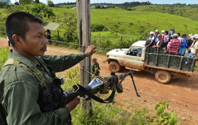 Фото: війна з повстанцями в Колумбії тривала 52 роки