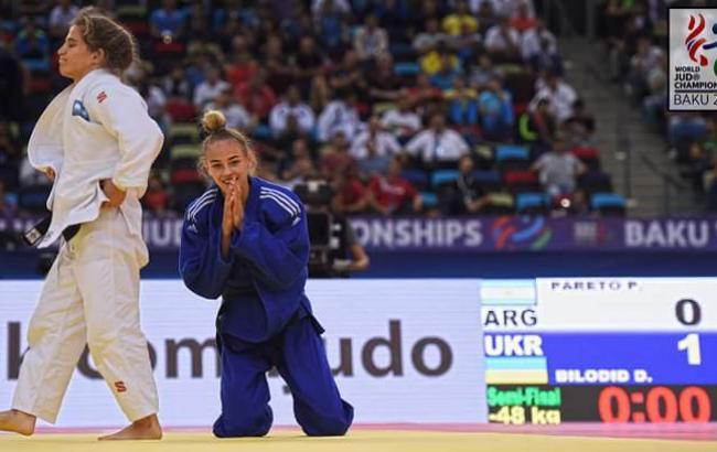 Українська спортсменка виграла чемпіонат світу здзюдо