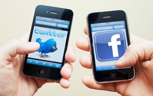 """Фото: американські соцмережі """"Фейсбук"""" і """"Твіттер"""" (The News)"""