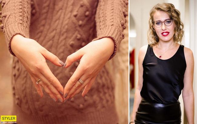 Ксенія Собчак прокоментувала чутки про свою вагітність