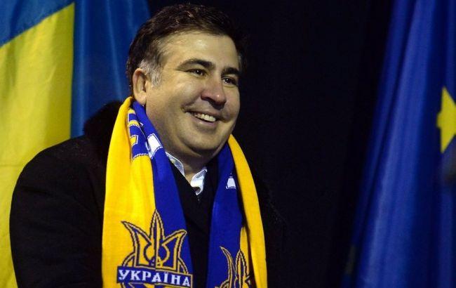 Порошенко Саакашвілі представив в якості голови Одеської ОДА