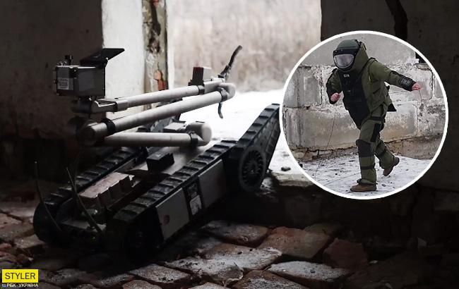 """""""Разом переможемо"""": в мережі оприлюднили відео бойових роботів на Донбасі"""