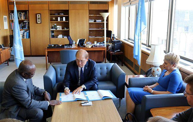 Україна підписала меморандум про співпрацю з Міжнародною морською організацією