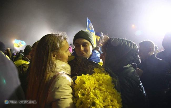 Фото: обмен пленными (РБК-Украина)