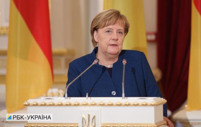 """Україна повинна мати гарантії збереження транзитної ролі після запуску """"Північного потоку-2"""", - Меркель"""
