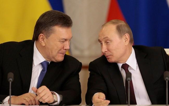 Фото: Путин и Янукович (knk.media)