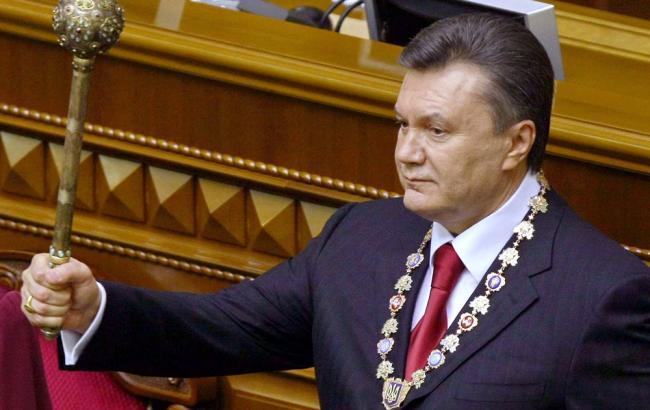 Фото: в ходе допроса Янукович заявил, что считает себя легитимным