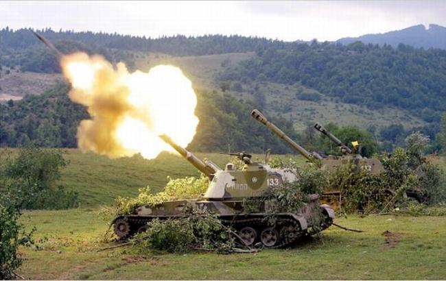 Обстріл України з території РФ поновилися вперше з моменту укладення мінських домовленностей, - РНБО