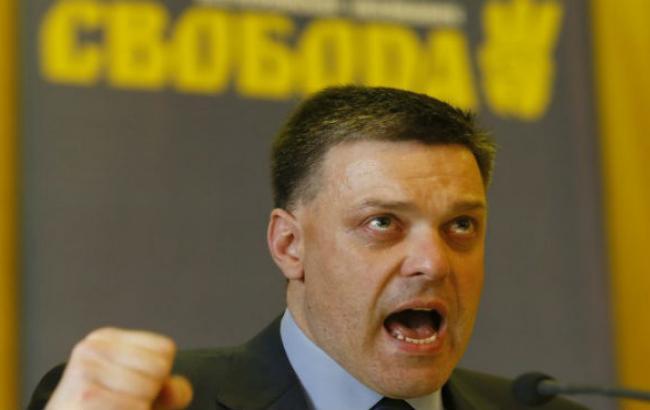 Поведение нардепов 7-го созыва подтвердило их нежелание вывести Украину из-под влияния РФ, - Тягнибок
