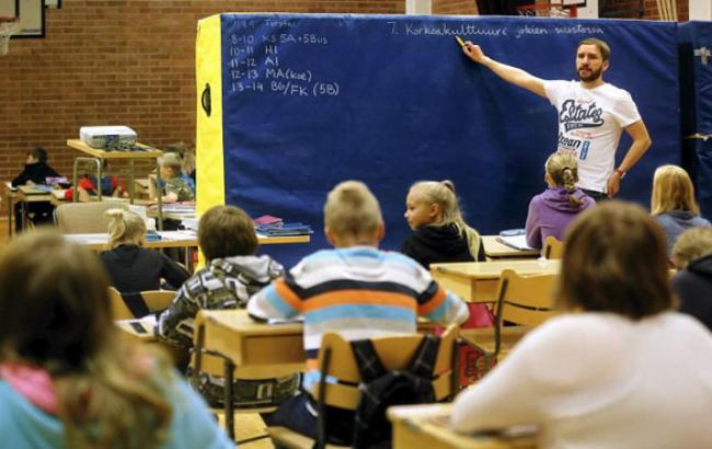 Фото: Даже классная доска поражает своим видом (prouchebu.com)