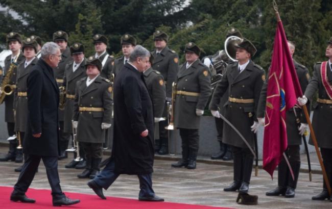 Фото: Петр Порошенко и Александер Ван дер Беллен (president.gov.ua)