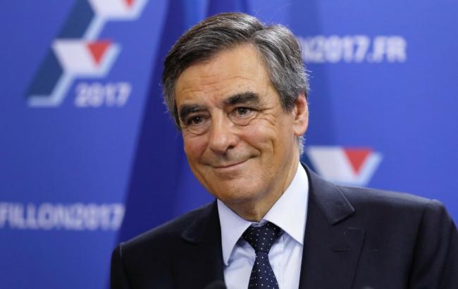 Фото: кандидат в президенты Франции Франсуа Фийон