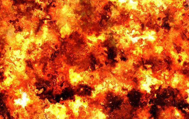 У центрі Донецька стався вибух, є постраждалі