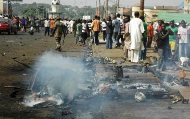 Фото: теракт в Нигерии (Firstpostng twitter)