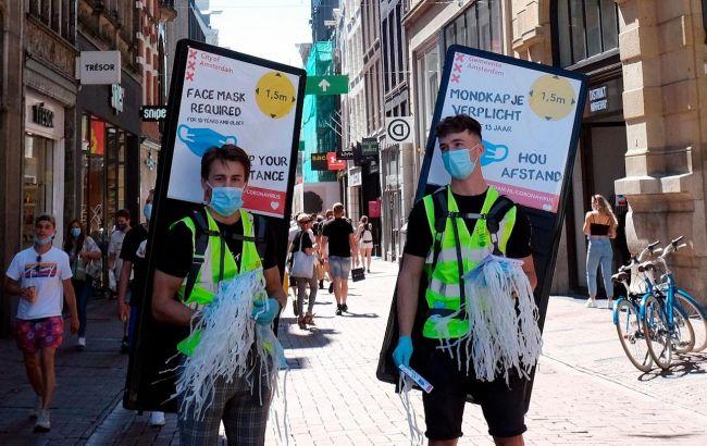 У Нідерландах зафіксували рекордний приріст заражених коронавірусом