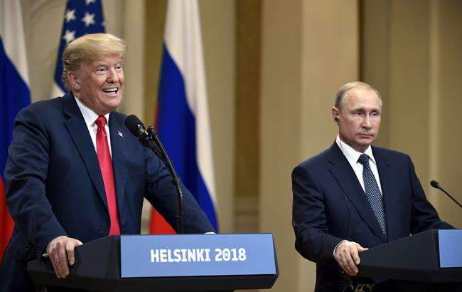 """Трамп """"с нетерпением"""" ожидает новой встречи с Путиным"""