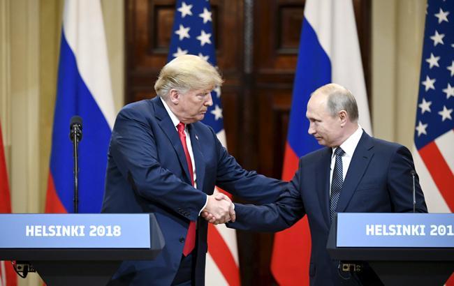 """Трамп анонсував """"великі результати"""" від зустрічі з Путіним"""